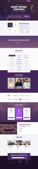 iTalk – Event Conference Elementor Template Kit by Jegtheme